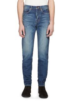 Yves Saint Laurent Slim Faded Jeans
