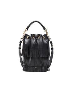 Yves Saint Laurent Saint Laurent Small Fringe Bucket Bag