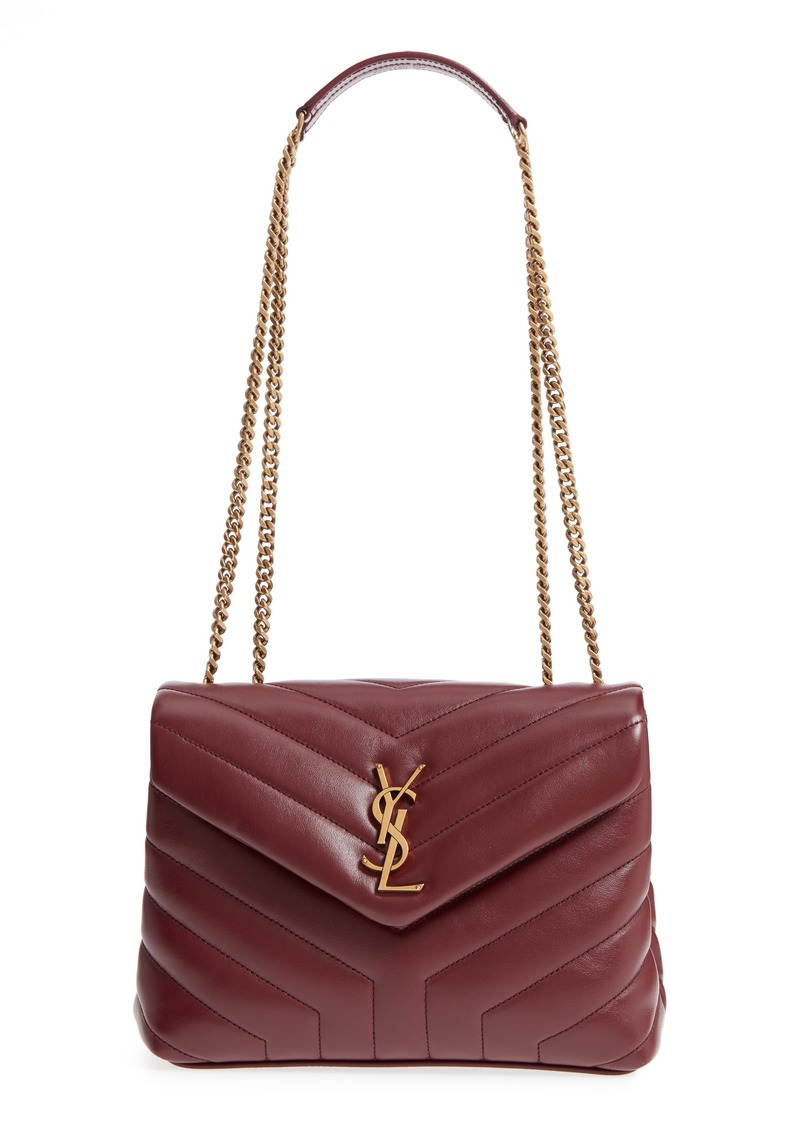 Saint Laurent Small Loulou Leather Shoulder Bag