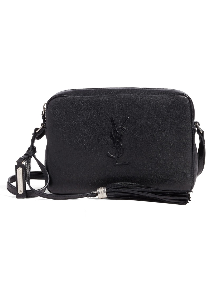 ee1ab97fcc Saint Laurent Saint Laurent Small Mono Leather Camera Bag
