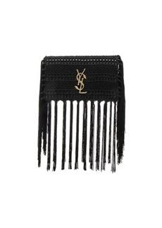 Yves Saint Laurent Saint Laurent Small Monogramme Crochet Serpent Clutch