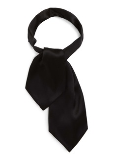 Yves Saint Laurent Saint Laurent Small Silk Ascot Tie