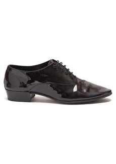 Yves Saint Laurent Saint Laurent Smoking patent-leather Oxford shoes