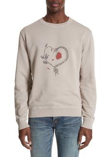 Yves Saint Laurent Saint Laurent Snake Heart Graphic
