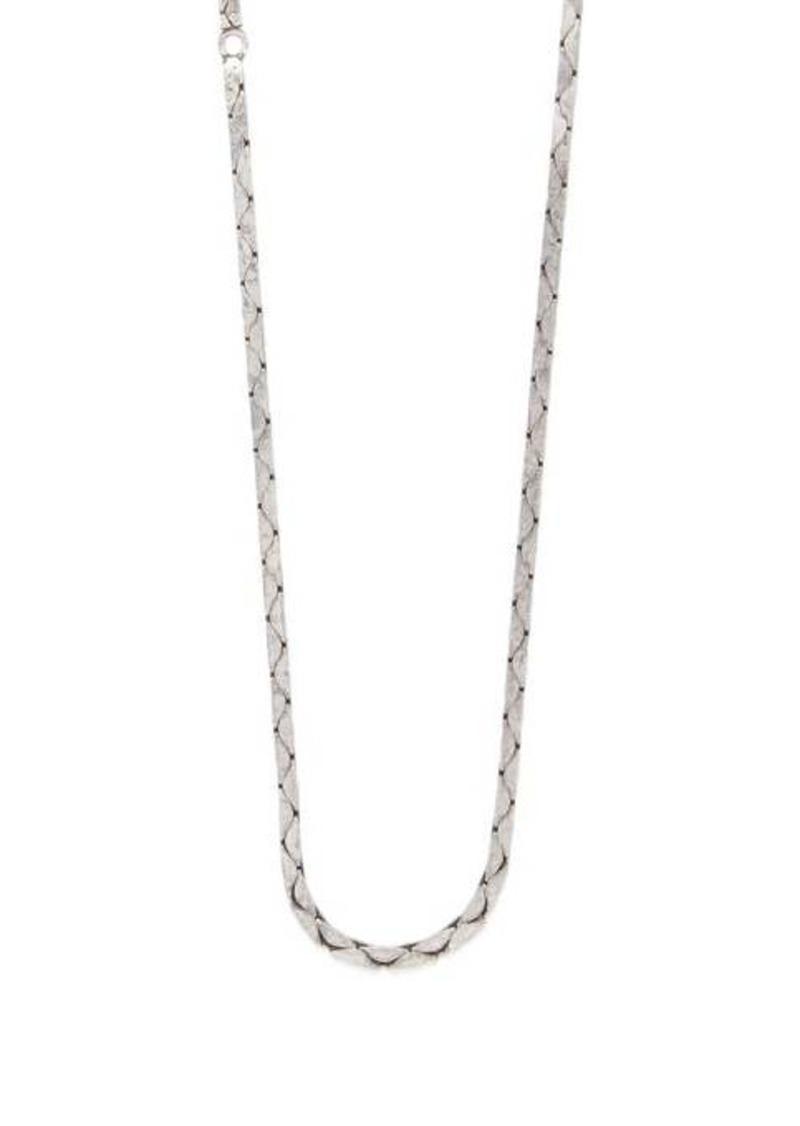 Yves Saint Laurent Saint Laurent Snake-link chain necklace