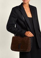 e4c217d4c3c SALE! Saint Laurent Saint Laurent Spontini suede satchel cross-body bag