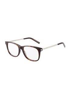 Yves Saint Laurent Saint Laurent Square Acetate and Metal Optical Glasses