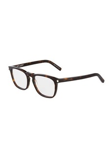 Yves Saint Laurent Saint Laurent Square Acetate Optical Glasses
