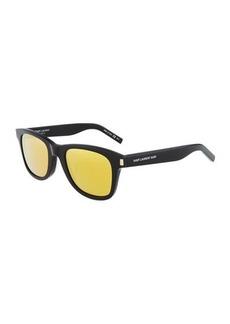 Yves Saint Laurent Saint Laurent Square Acetate Sunglasses