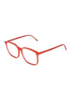 Yves Saint Laurent Saint Laurent Square Plastic Optical Glasses