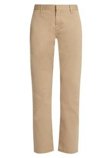 Saint Laurent Stretch-cotton gabardine chino trousers