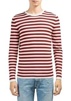 Yves Saint Laurent Stripe Wool Sweater