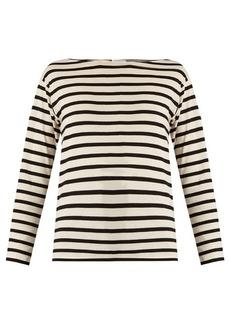 Saint Laurent Striped cotton T-shirt