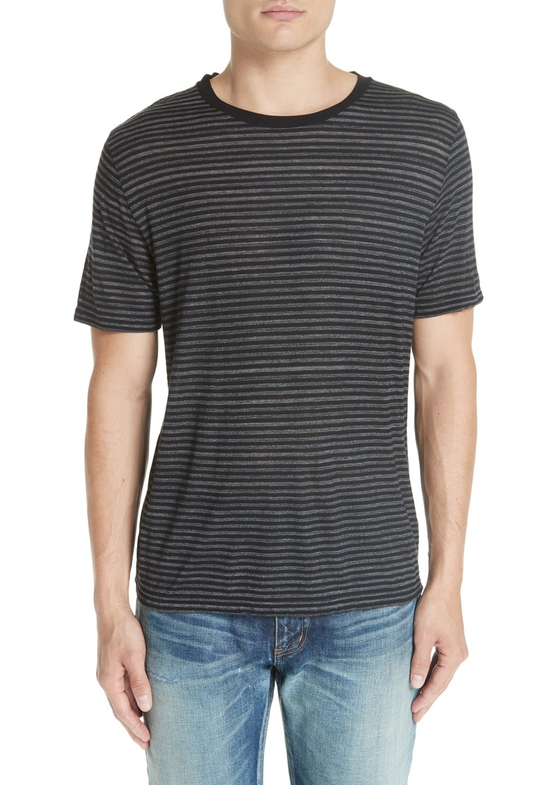 f375aa90dc Yves Saint Laurent Saint Laurent Striped T-Shirt | T Shirts