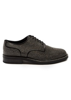 Yves Saint Laurent Saint Laurent Stud-embellished leather derby shoes