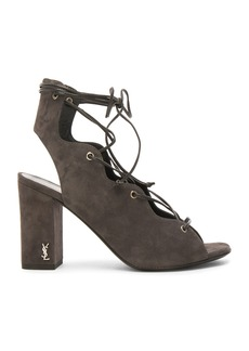 Yves Saint Laurent Saint Laurent Suede Babies Sandals