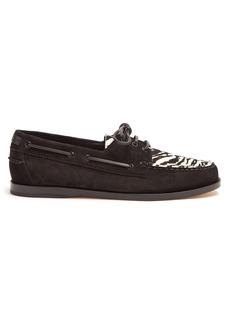 Yves Saint Laurent Saint Laurent Suede deck shoes