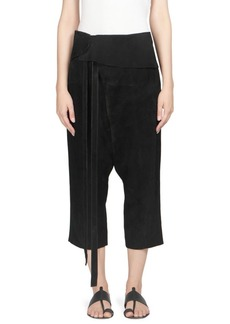 Saint Laurent Suede Haram Pants