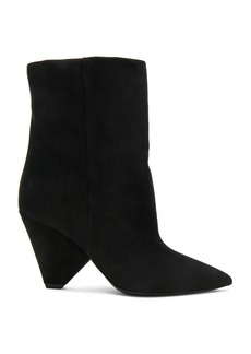 Saint Laurent Suede Niki Booties