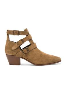 Saint Laurent Suede Rock Boots