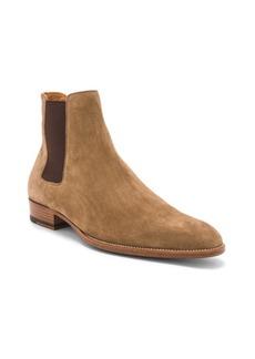 Yves Saint Laurent Saint Laurent Suede Wyatt Chelsea Boots