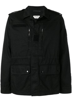 Yves Saint Laurent sunset patch cargo jacket