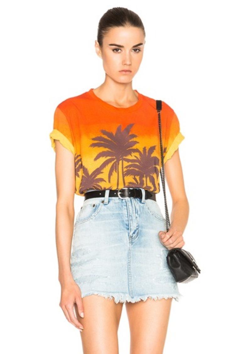 Saint Laurent Sunset Tee Shirt