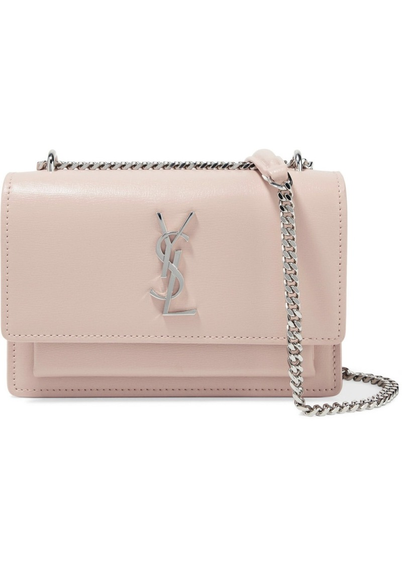 323baddb71186 Saint Laurent Saint Laurent Sunset textured-leather shoulder bag ...