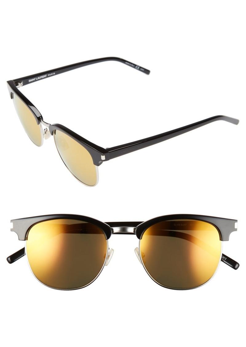 Saint Laurent 'Surf' 52mm Sunglasses