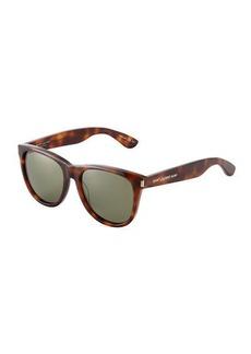 Yves Saint Laurent Saint Laurent Surf Plastic Square Sunglasses
