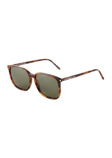 Yves Saint Laurent Saint Laurent Surf Square Acetate Sunglasses