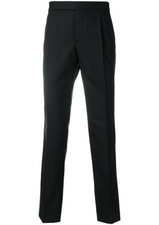 Yves Saint Laurent Saint Laurent tailored fitted trousers - Black