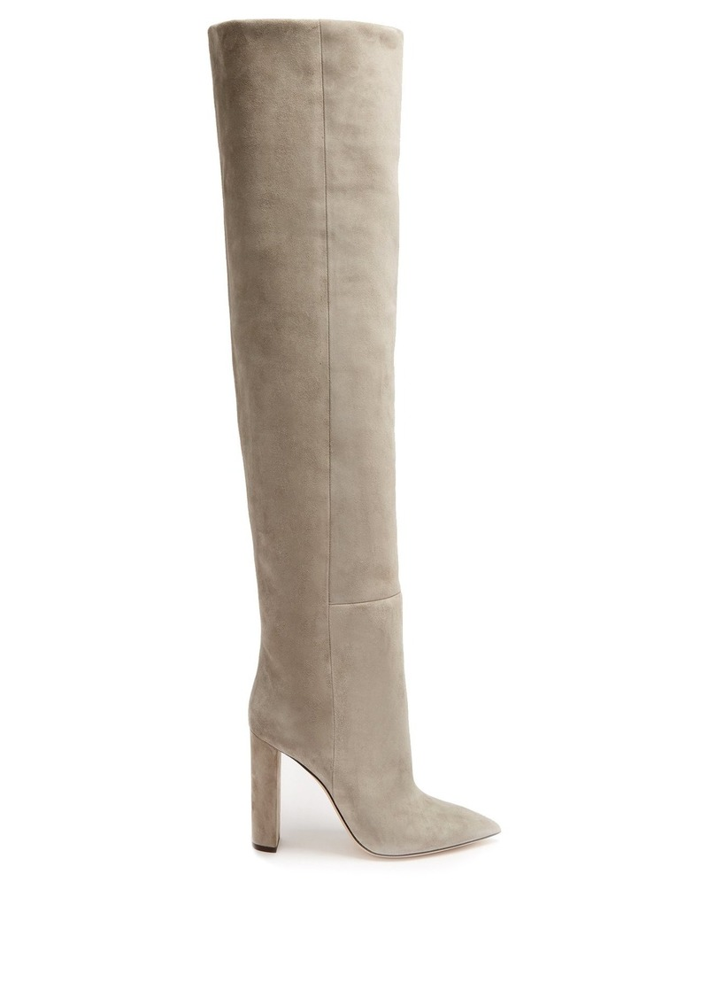 2f2b8847017 Tanger over-the-knee suede boots