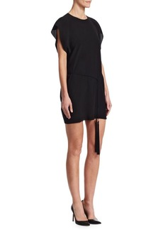 Saint Laurent Tassel Shift Dress