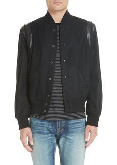 Yves Saint Laurent Saint Laurent Teddy Bomber Jacket