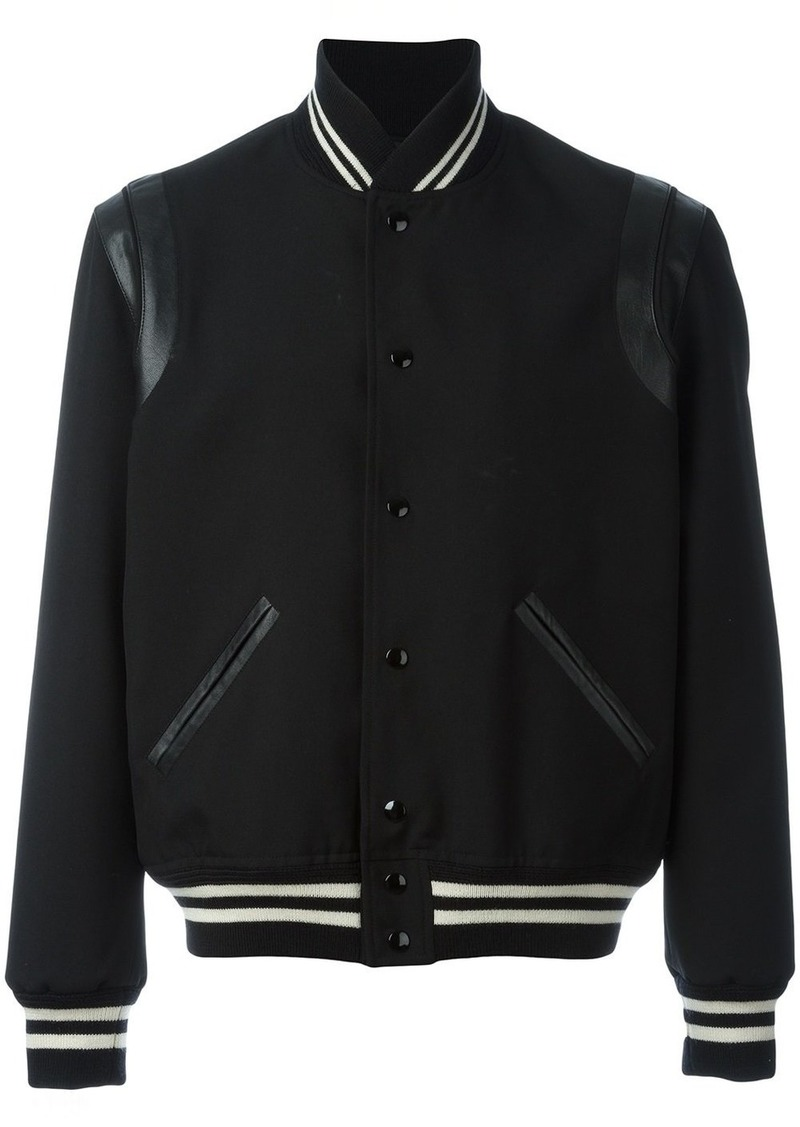 8de886d231c Yves Saint Laurent Saint Laurent teddy jacket - Black | Outerwear