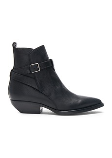Saint Laurent Leather Theo Jodhpur Boots