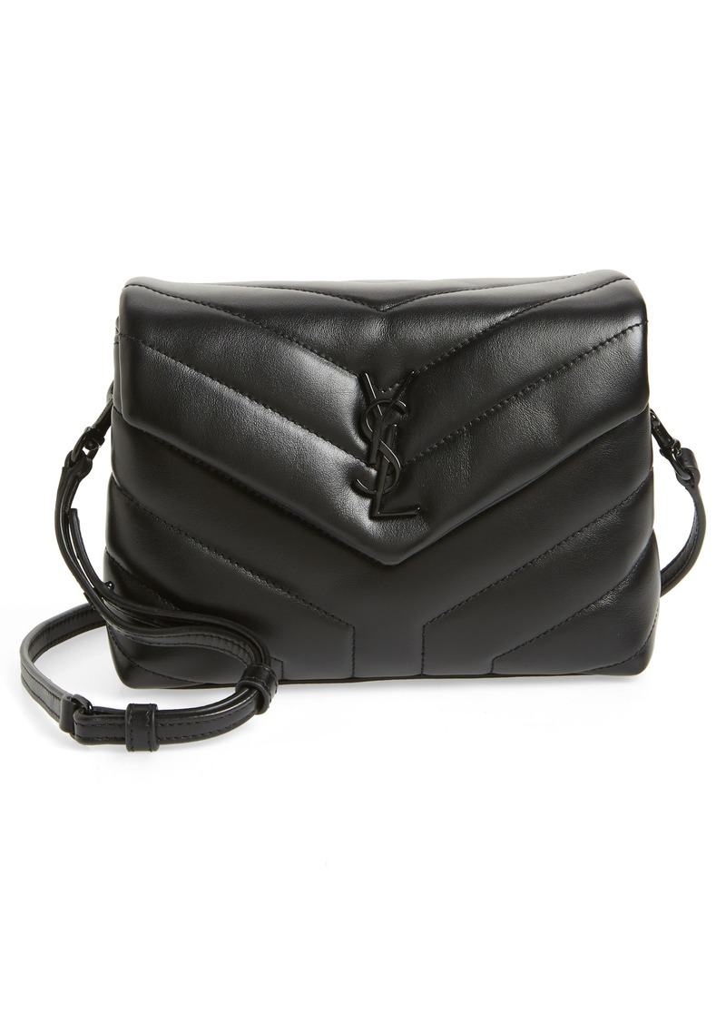 Saint Laurent Toy Loulou Leather Crossbody Bag