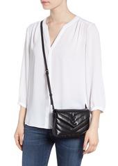 674ccc3dbe Saint Laurent Saint Laurent Toy Loulou Leather Crossbody Bag