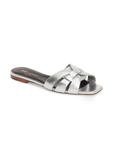 Yves Saint Laurent Saint Laurent Tribute Nu Pieds Slide Sandal (Women)