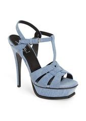 Saint Laurent 'Tribute' Platform Sandal (Women)
