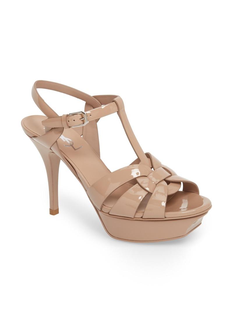 72351b015368 Saint Laurent Saint Laurent Tribute Platform Sandal (Women)