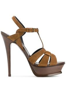 Yves Saint Laurent Saint Laurent Tribute sandals - Brown