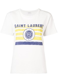 Saint Laurent université printed T-shirt