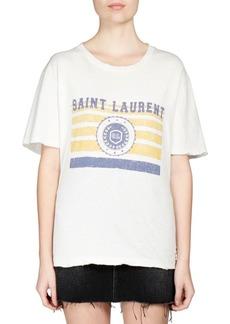 Saint Laurent Universite Logo T-Shirt