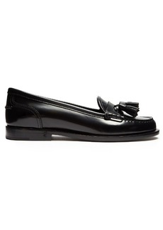 Saint Laurent Universite tasselled patent-leather loafers
