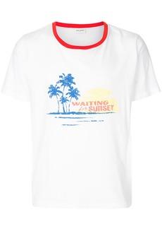 Yves Saint Laurent Waiting for Sunset T-shirt