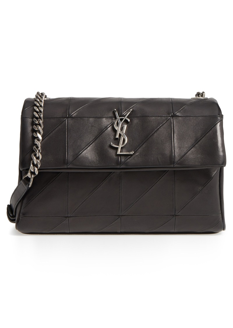 934d31e7e535 Saint Laurent Saint Laurent West Hollywood Patchwork Leather ...