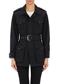 Yves Saint Laurent Saint Laurent Women's Belted Military Jacket