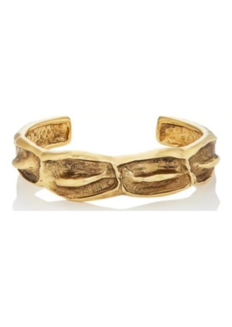 01d8c2259374 Saint Laurent Saint Laurent Women s Crocodile Cuff